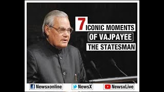 7 Iconic moments of Vajpayee: The statesman