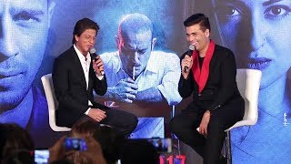 Shahrukh Khan & Karan Johar's Koffee With Karan Type FUNNY Moments At Ittefaq Movie Promotions