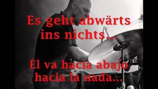 Freitod - Abwärts (sub Deutsch - Español)