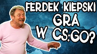 Ferdek Kiepski gra w CS GO ? (TrolleQ na mikrofonie)