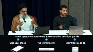 Open-Ended Q&A Session - Maulana Syed Muhammad Rizvi