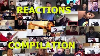 Captain America: Civil War Trailer 2 - Reactions Compilation - Spider-Man Reveal
