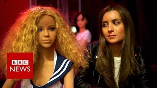 Sex doll brothels: a growing trend?  - BBC News