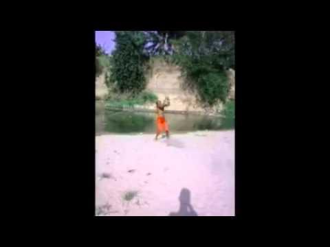 back mortal flip con isaac balbuena en el rio
