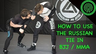How Elite Wrestlers use the Russian Tie for BJJ / MMA