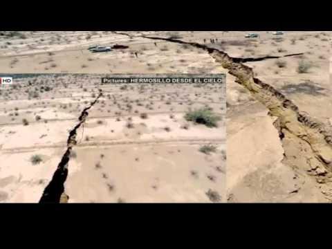 لا يصدق صدع عملاق يظهر في الأرض 17km