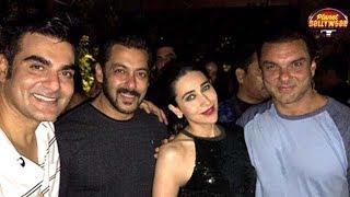 Arbaaz Khan Celebrates His 50th Birthday With Ex-Wife Malaika Arora  | Bollywood News