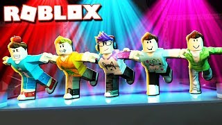 Roblox Adventures - THE PALS GROUP DANCE ROUTINE! (Dance Your Blox Off)