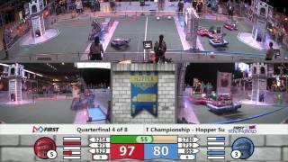 QF4M1   FIRST Championship   Hopper Subdivision