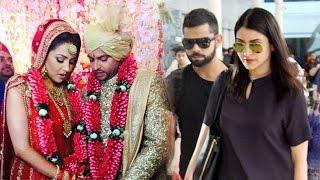 Virat Kohli - Anushka Sharma Attend Suresh Raina's Wedding