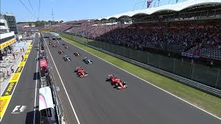 2017 Hungarian Grand Prix | Race Highlights