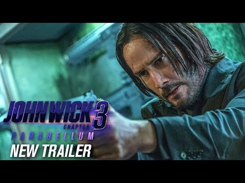 John Wick Chapter 3 Parabellum 2019 Movie New Trailer – Keanu Reeves Halle Berry