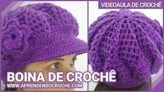 Download Boina de Croche Burguesinha - Aprendendo Crochê 3Gp Mp4