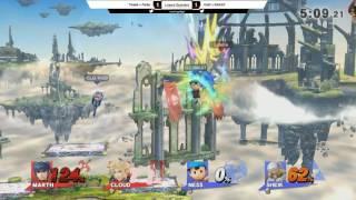 2GGT: ZeRo Saga - False + Tweek (Red) Vs. NAKAT + VoiD (Blue) Losers Quarters - Smash Wii U