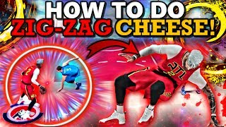 NBA 2K17 HOW TO DO ZIG-ZAG ANKLE BREAKING CHEESE! (GETS CONSISTENT ANKLES!!)