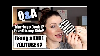 Makeup Collection - Q&A | Being a FAKE R?