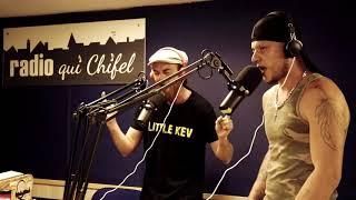 """Little Kev et T'NOR - Freestyle Live """"Un Tas D'urgences"""" Dans La Roots Familly RQC.95fm"""