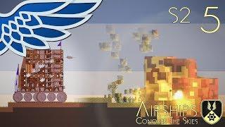 AIRSHIPS | Torpedo Siege Tank Part 5 - Airships Conquer The Skies S2 Let