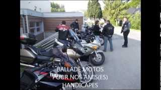 Ballade Motos au Chateau de BOIS-HIMONT assiciation ARCAUX