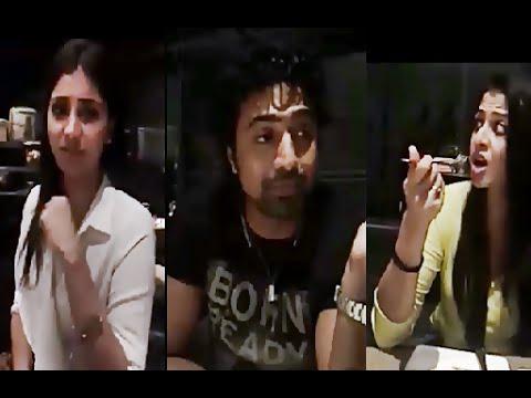 Dev | Rukmini Maitra | Koel Mallick | Koyel, Dev & Rukmini Maitra Together inside Restaurant