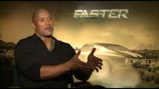 Dwayne Johnson talks Faster