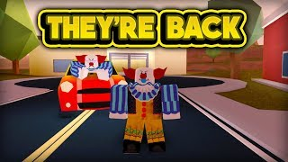 THE CLOWNS ARE BACK! (ROBLOX Jailbreak)