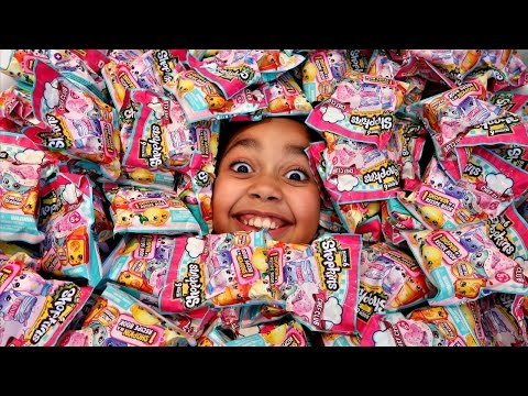 250 Surprise Shopkins Season 6 Chef Club Blind Bags Opening - Toys For Kids | Toys AndMe
