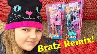 NEW Bratz 2016 Remix Cloe & Yasmin Dolls - Unboxing & Review