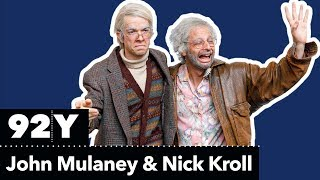 Oh, Hello: Nick Kroll and John Mulaney as Gil Faizon and George St. Geegland
