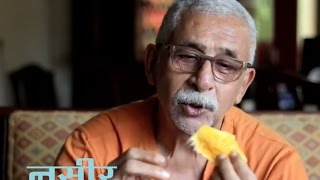 Naseeruddin Shah informal on Gulzar