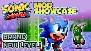 Armless Sonic in Aurora Garden - Mania Mod Showcase