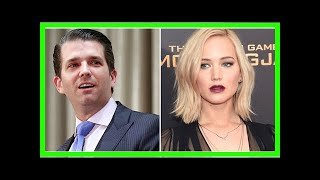 News 24/7 - People are not happy about what donald trump Jr. told jennifer lawrence