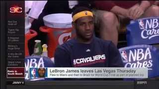 July 11, 2014 - ESPN - LeBron James has Miami and Cleveland Panicking While he makes his Decision