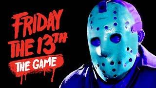 NEW RETRO JASON! | Friday The 13th: The Game (Classic NES Jason DLC Skin) (ft. Friends)