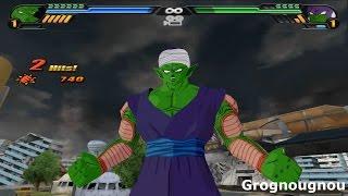 Piccolo transforms into a Giant Namekian VS Lord Slug (dbz Tenkaichi 3 mod)