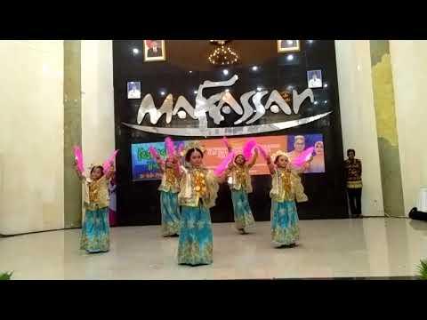 Tari Kreasi Alosi Ripolo Dua SD Inpres Gunung Sari Baru Makassar