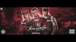Juanka Ft. Jory, Nengo Flow - Mi Recuerdo Remix [Video Lyric]