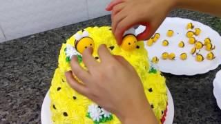 Como confeitar bolo - Abelhinha - Doces da Nice #2