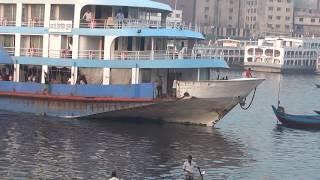 MV Kristal Crue Beautiful Launch Dhaka To Vhola এম ভি ক্রিস্টাল ক্র সুন্দর লঞ্চ