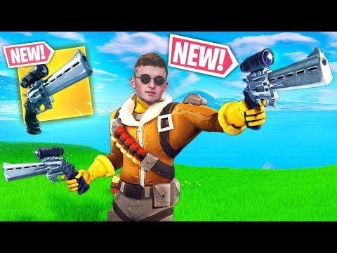 Victory Royale s With The NEW Scoped Revolver