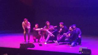 Jared Padalecki, Jensen Ackles and Louden Swain ~ Freefallin AHBL8