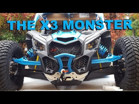 2018 Can Am Maverick X3 X RC Turbo R Rock Crawler first one out of the crate MONSTER