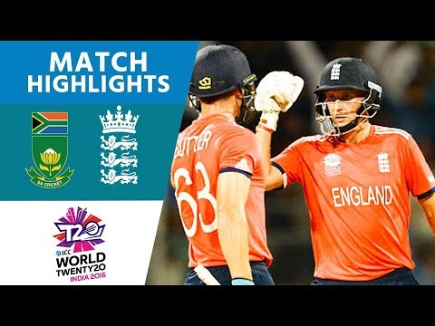 ICC #WT20 - South Africa vs England -  Match Highlights