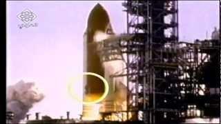 لحظة انفجار مكوك الفضاء تشالنجر ـ HD ـSpace Shuttle Challenger