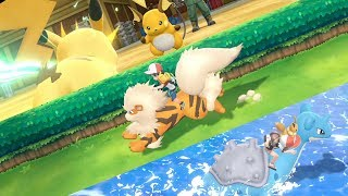Celebrate Pokémon: Let's Go! with Pikachu, Eevee, and a familiar song!