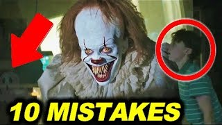 """10 BIGGEST MISTAKES in """"IT"""" ( 2017 ) - 99% couldn"""