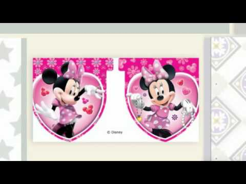 Articulos fiesta infantil Minnie Mouse
