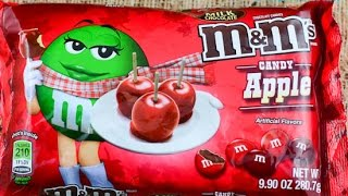SnaQPaQ Candy Apple M&M's Review QOTD favorite Adam Sandler Movie