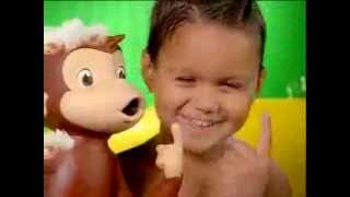 Tub Time Curious George Commercial