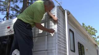 How To Reseal RV Corner Molding